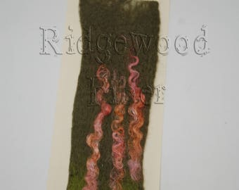Wet Felted Bookmarks
