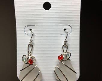 Beachglass Earrings