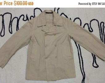 Birthday Sale Vintage 90s Stone Island Trench Coat, Long Coat, Made in Italy great condition, Rare