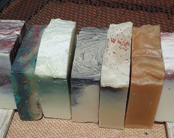Soap of the month club - 6 or 12 months - artisan handcrafted soaps - 12 month subscription - handmade soaps - Hanna Herbals