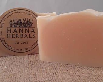 Lemongrass Soap - 4 ounce soap - all natural soap - essential oil soap - lemongrass soap bar