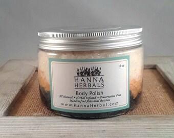 Pumpkin Spice Body Polish - Pumpkin Body Polish - dry skin relief - Hanna Herbals  - Fall Body Polish