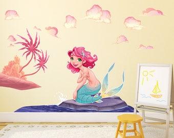 Mermaid Wall Sticker - WDDASA10072