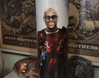 St Floyd Mayweather Jr Prayer Candle