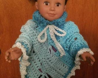 "American Girl/18"" Doll Firefly Poncho"