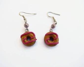Donuts earrings