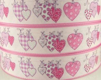 Ribbon heart (1 m) 22mm