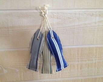 Sardine fabric hanging
