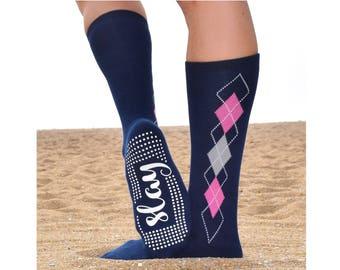 Slay Knee High Sticky Socks For Barre, Pilates, Yoga