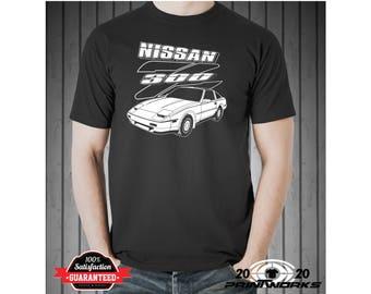 Nissan 300ZX Z31 Custom Printed Sports Car T-Shirt