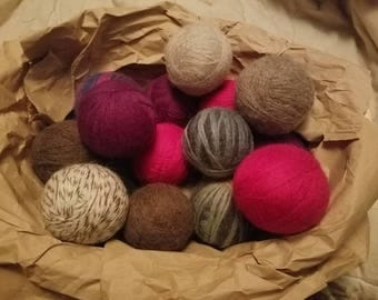 100% Wool Dryer Ball - Save Money on Energy Costs and Reduce the Use of Toxins