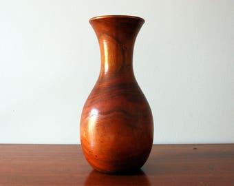 Vintage Wood Vase