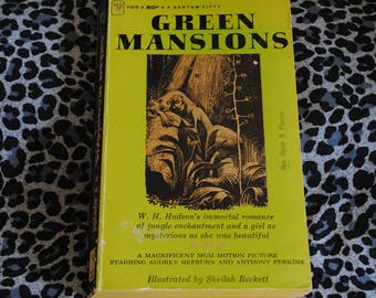 Green Mansions by W.H. Hudson illustrated by Sheilah Beckett 1959