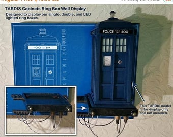 ON SALE NOW Tardis Cabinets Ring Box Wall Display