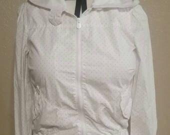 White liripipe jacket size M