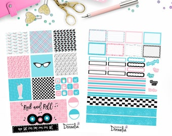 Mini Happy Planner Rock and Roll set