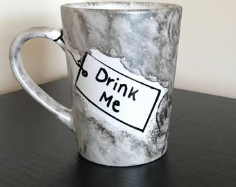 Alice in wonderland Mug- Drink me