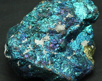Peacock Ore (Chalcopyrite), Mexico - Mineral Specimen for Sale