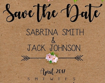 ON SALE 30% OFF Save the Date