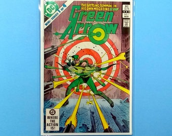 Green Arrow #1 Comic Book, (Grade NM) 1983, 1st Solo Series, DC Comics Green Arrow, B3