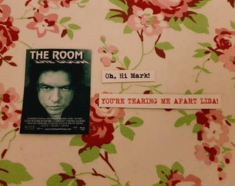 Set of 3 The Room magnets