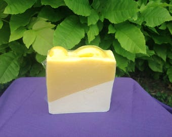 Lemon Slices Handmade Soap