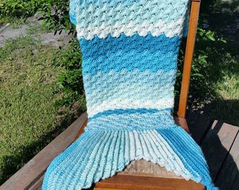 Sophie Crocheted Mermaid Tail