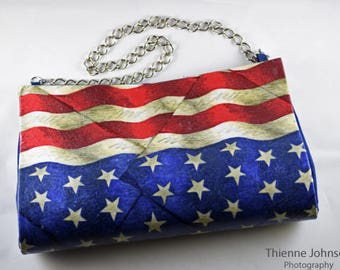 Fourth of July Clutch 1