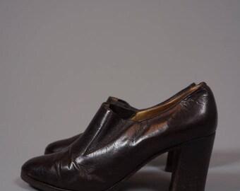 Céline Paris Leather Pumps