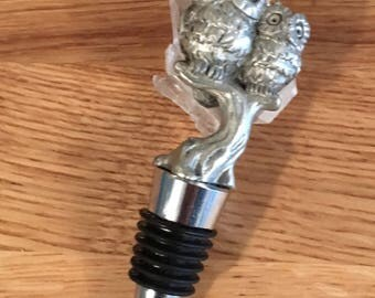 Silver Owl Wine Saver