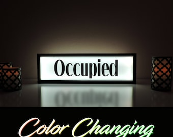 Occupied sign | Etsy