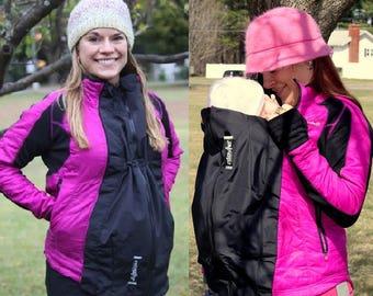 Maternity Jacket Extender Babywearing Carrier Cover