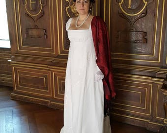 19th century dress - Regency dress - dress Empire - CLARY