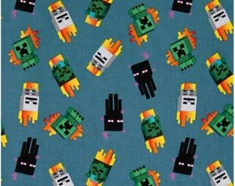 Minecraft Yellow Fabric Craft