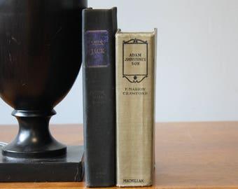 Black Books, Vintage Books, Antique Books, Vintage Collection, Book Décor, Wedding Decor, Home Decor, Centerpiece, Office Décor, Book set