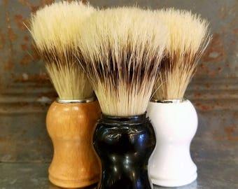 Natural Boar Hair Shaving Brushes