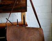 Postman's bag. handmade leather hand bag. Handstiched. genuine leather.cow leather weekend Bag .handmade leather bag.handcrafted by Seipelo.