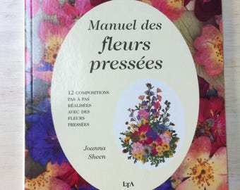 Manual of dried pressed flowers