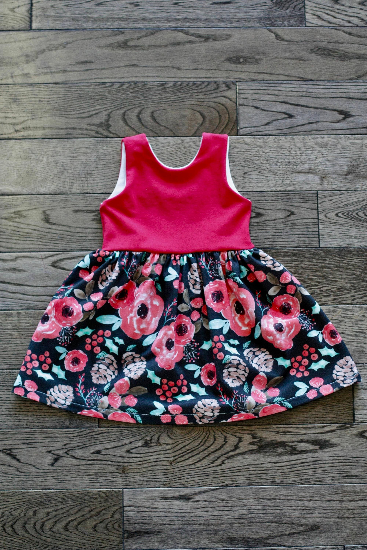 PRE ORDER Baby Dress Scoop Back Baby Dress Toddler Dress