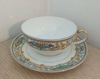 Vintage tea cup and saucer - Eschenbach Bavaria Germany