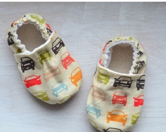Sale car crib shoes car baby shoes car toddler booties baby boy shoes car baby shower soft sole baby shoes with cars newborn slippers for...