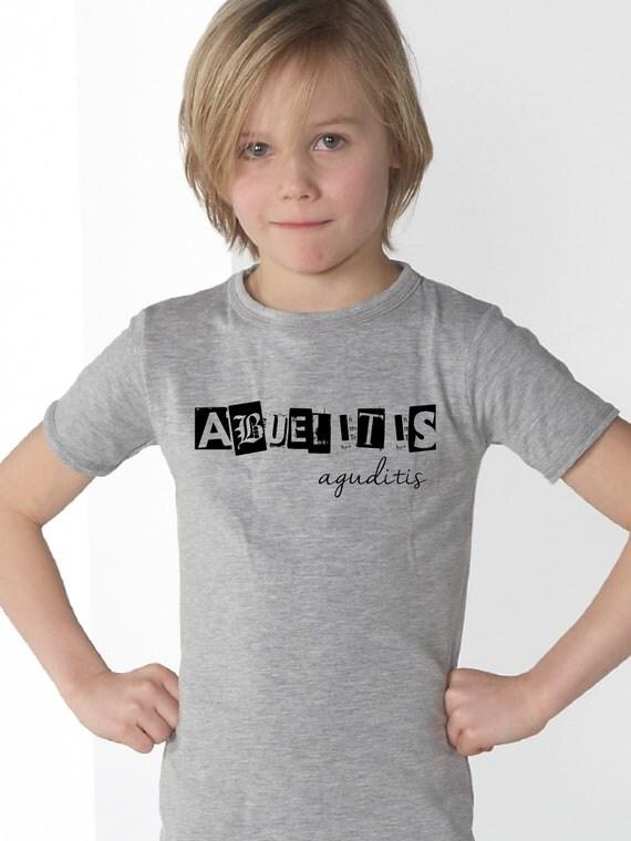 Boy t-shirt ABUELITIS AGUDITIS