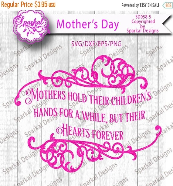 ON SALE Mother\'s Day Sayings Cutting files Quotes in SVG-Dxf-Eps ...
