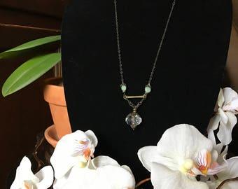Handmade pendant antique necklace