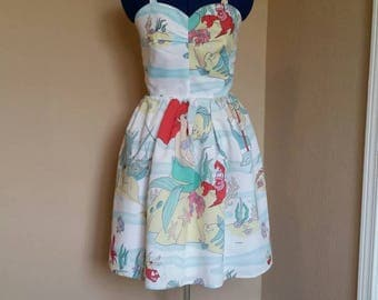 The little mermaid dress
