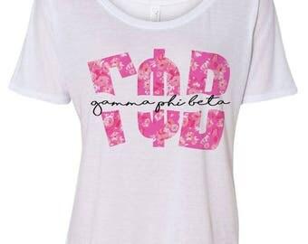 Gamma Phi Beta Slouchy T-Shirt