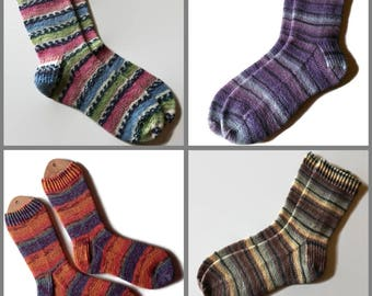 KNIT TO ORDER Hand Knit Socks
