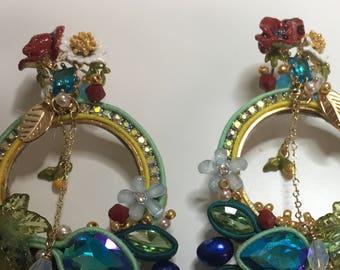 """Earrings""""MY SUMMER"""""""