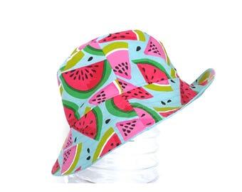 Adult bucket hat, boys bucket hat, kids bucket hat, bucket hat, sun hat, summer hat, reversible hat, adult hat, reversible hat, daycare hat