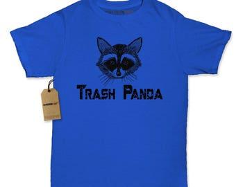 Trash Panda Raccoon Womens T-shirt
